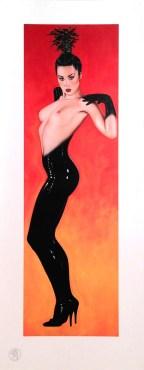Olivia de Berardinis Licorice StickStrike proof, unsigned 10.5 x 27 in. $25.00