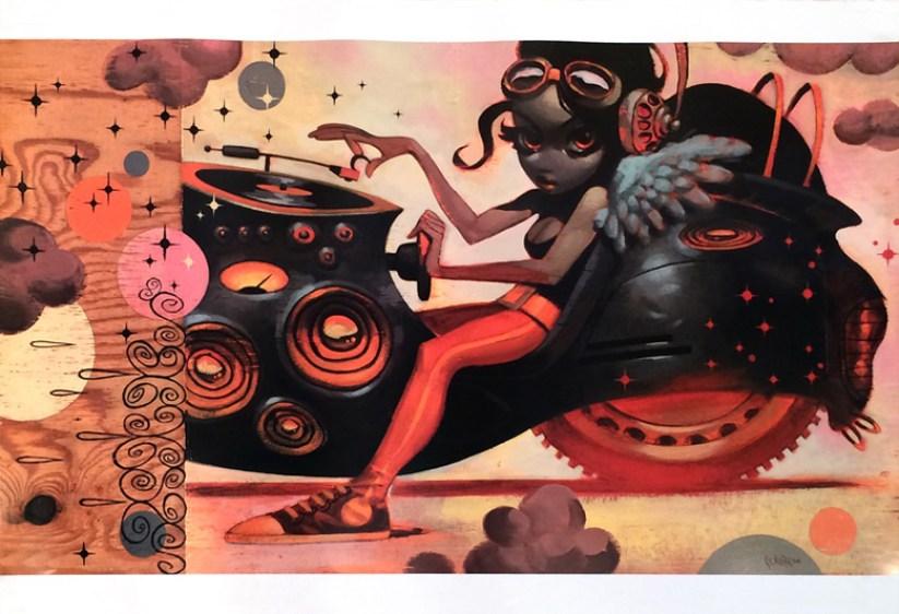 Glenn Barr - DEMF Full color print on poster paper, 36 x 24 in. $20