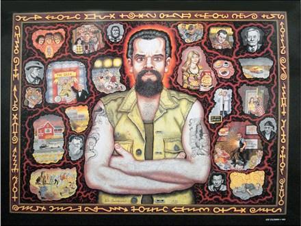 Joe Coleman - Self-portraitPoster, 18 x 22.5 in. $20