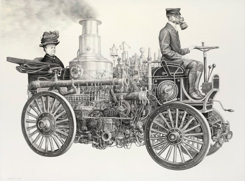 Laurie Lipton - Motoring