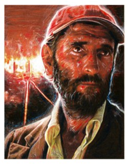 Nathan Anderson - Harry Dean Stanton as Travis Henderson (From Paris, Texas)