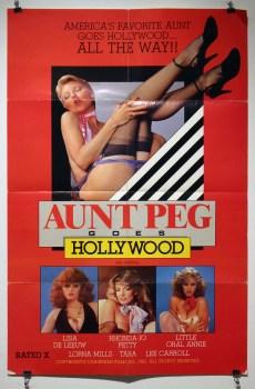 Aunt Peg Goes Hollywood