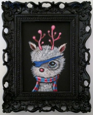 Edward Robin Coronel - Patchy-poohAcrylic on canvas, 5 x 7 in. (8 x 10 x 2 in. framed), $275 Sold​