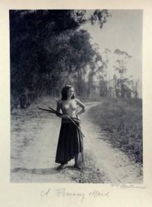 William Mortensen - A Romany Maid