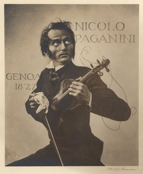 William Mortensen - Paganini