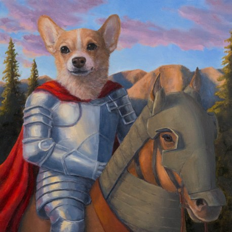 Justine Lin - Portrait of a Young Knight