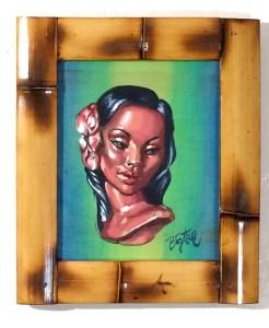 """Big Toe - Marwal MaidenAcrylic on panel, 8x11"""" (12x14"""" framed), $300"""