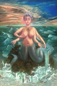 Maryrose Crook - She of the Sea,oil on canvas, 36x54 in. $16,000