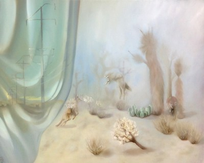 Maryrose Crook - Everything Is Dreaming,oil on canvas, 24x30 in. $4800
