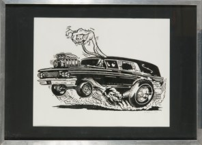 Kruse - Hearse Ink on paper, 16x20 in. $350 Sold
