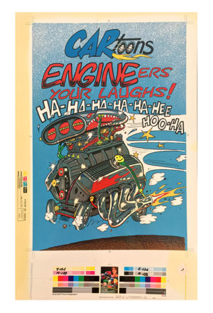 Tom (Fox) Marnick - Engineers Your Laughs Litho Print, 20.5 x 13.25 in.
