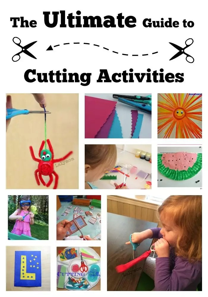 30 perfect cutting activities