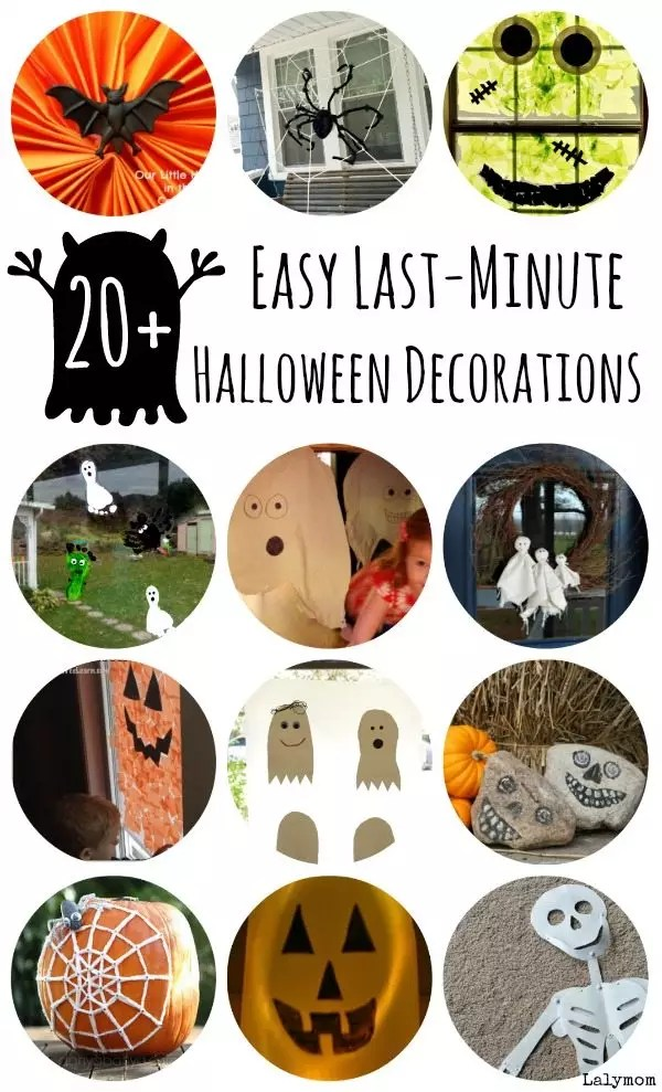 20 Awesome But Easy Diy Halloween Decorations To Make Today