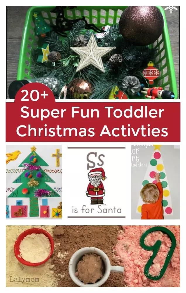 20 fun toddler christmas