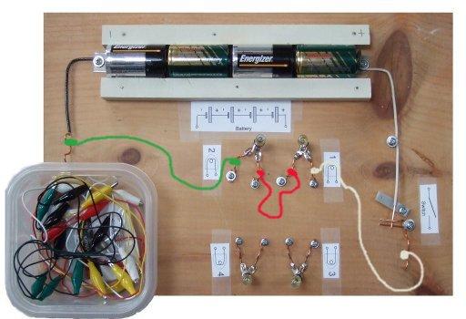 Series Circuit 12v Battery 2 Lit Bulbs A Series Circuit Is A