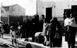 Accoglienza e sistemazione degli sfollati