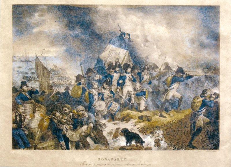 Raffet: Bonaparte en Corse: ses premières armes a l'expèdition de Sardaigne