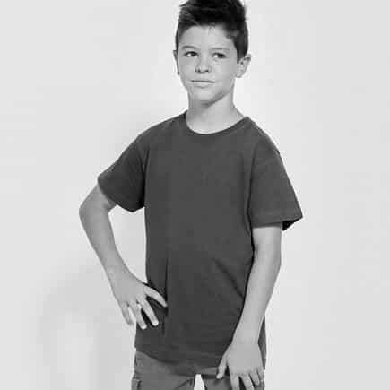 camiseta corta niño