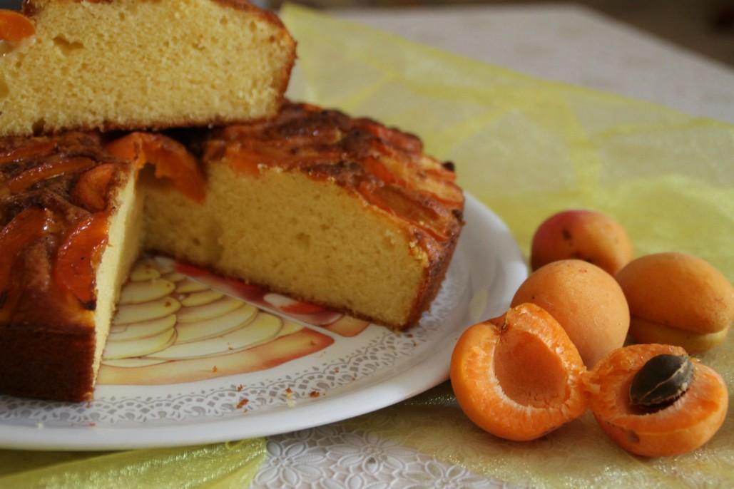 Torta Ricotta E Albicocche La Maga In Cucina