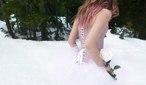 Laver le corset :Robe de mariée corset