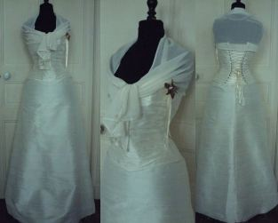 robe-de-mariee-soie-plisse