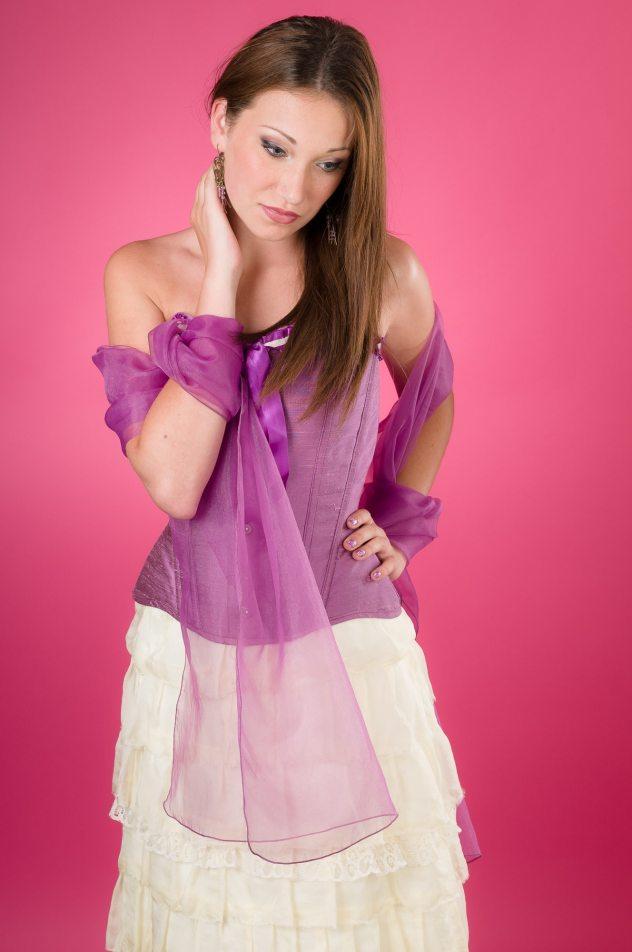 robe-de-mariee-rose-et-ivoire