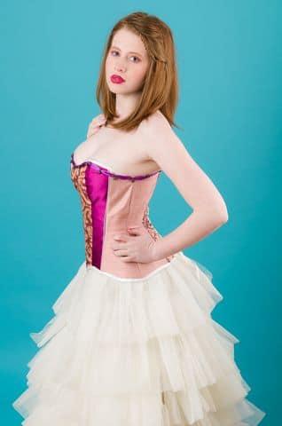Robes de mariées corsets tulle