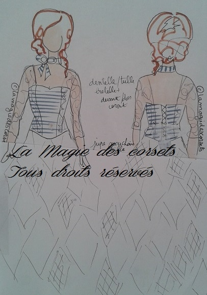 robe de mariée marinière