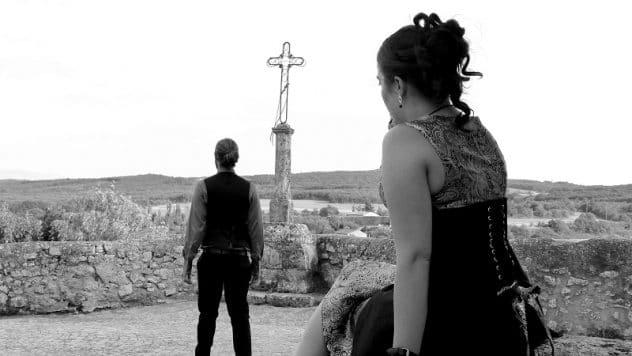 robe de mariée steampunk revisité