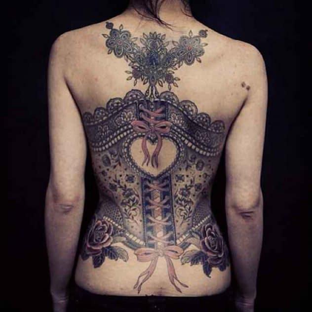 tatouage corset
