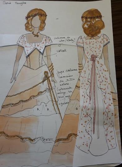 robe de mariée historique