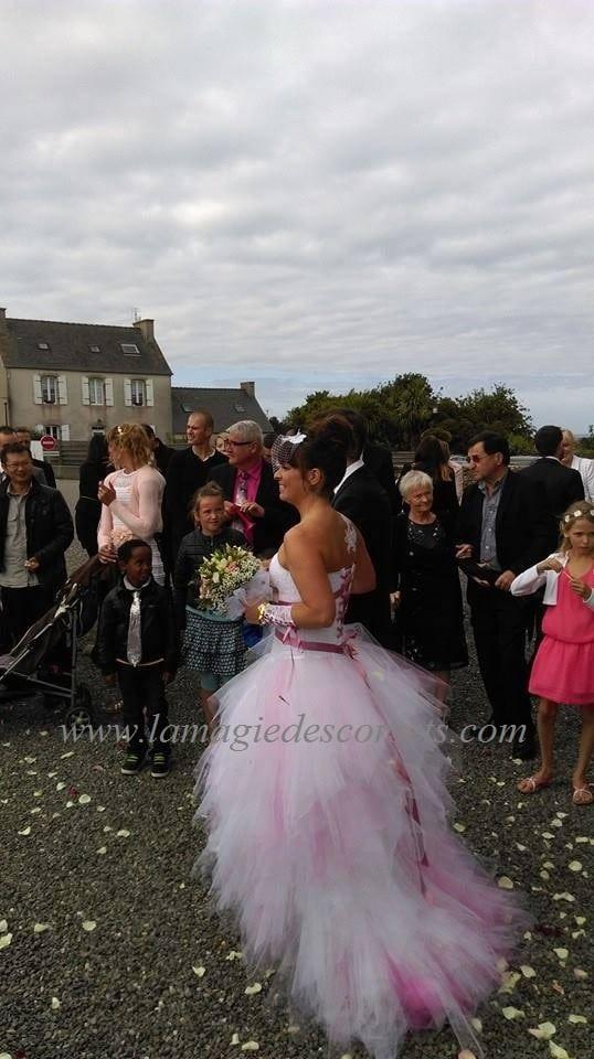 robe de mariée transformable