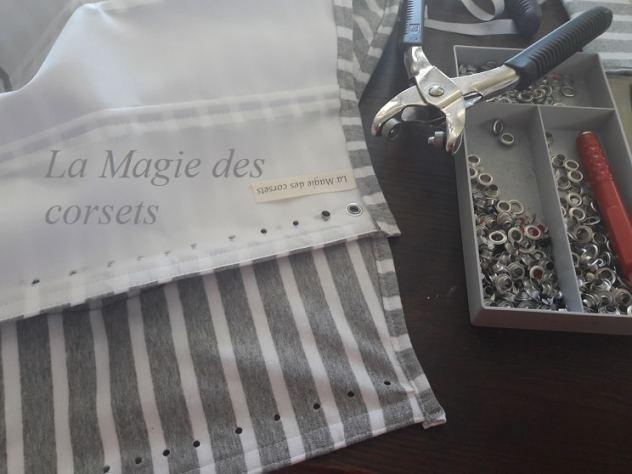 robe de mariée marinière grise