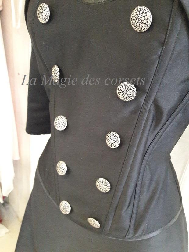 robe de mariée noire