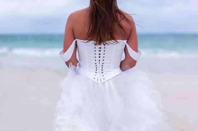Robe de mariée Boho chic