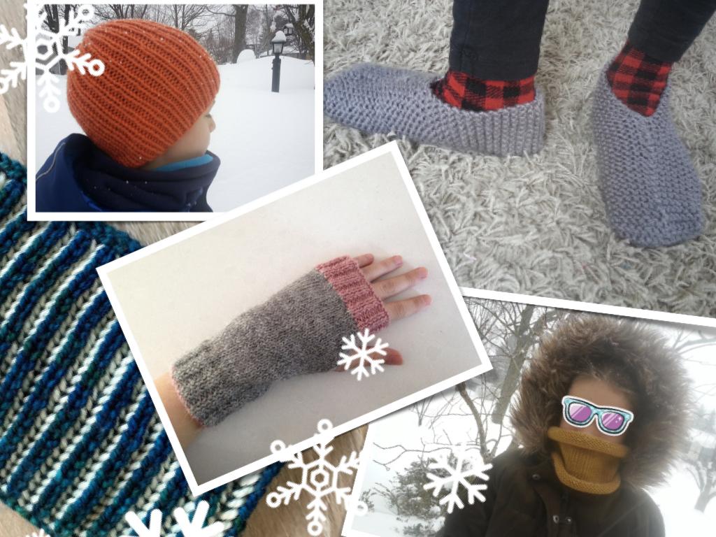 5 projets tricot pour se préparer à l'hiver