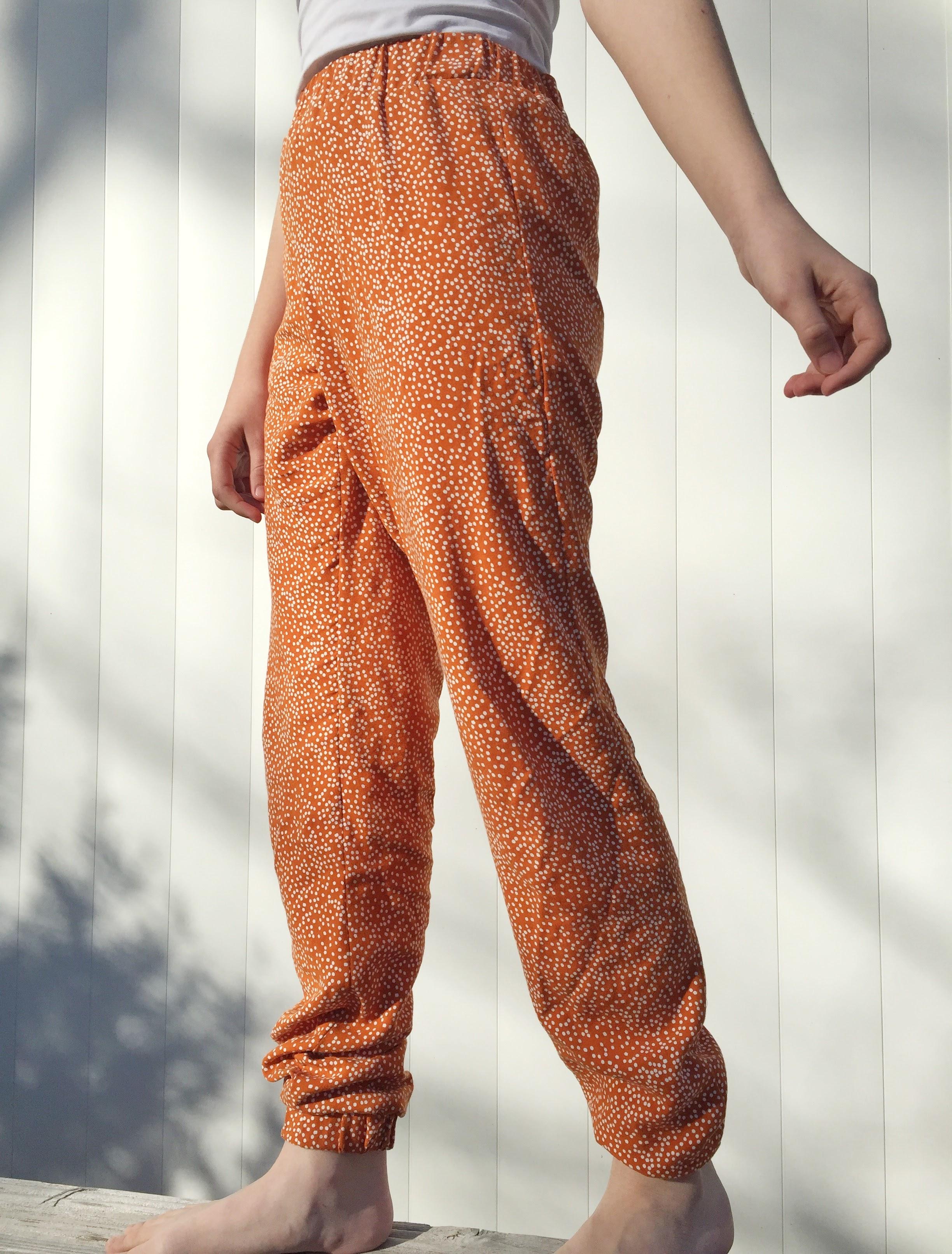 Un pantalon Hector Orange