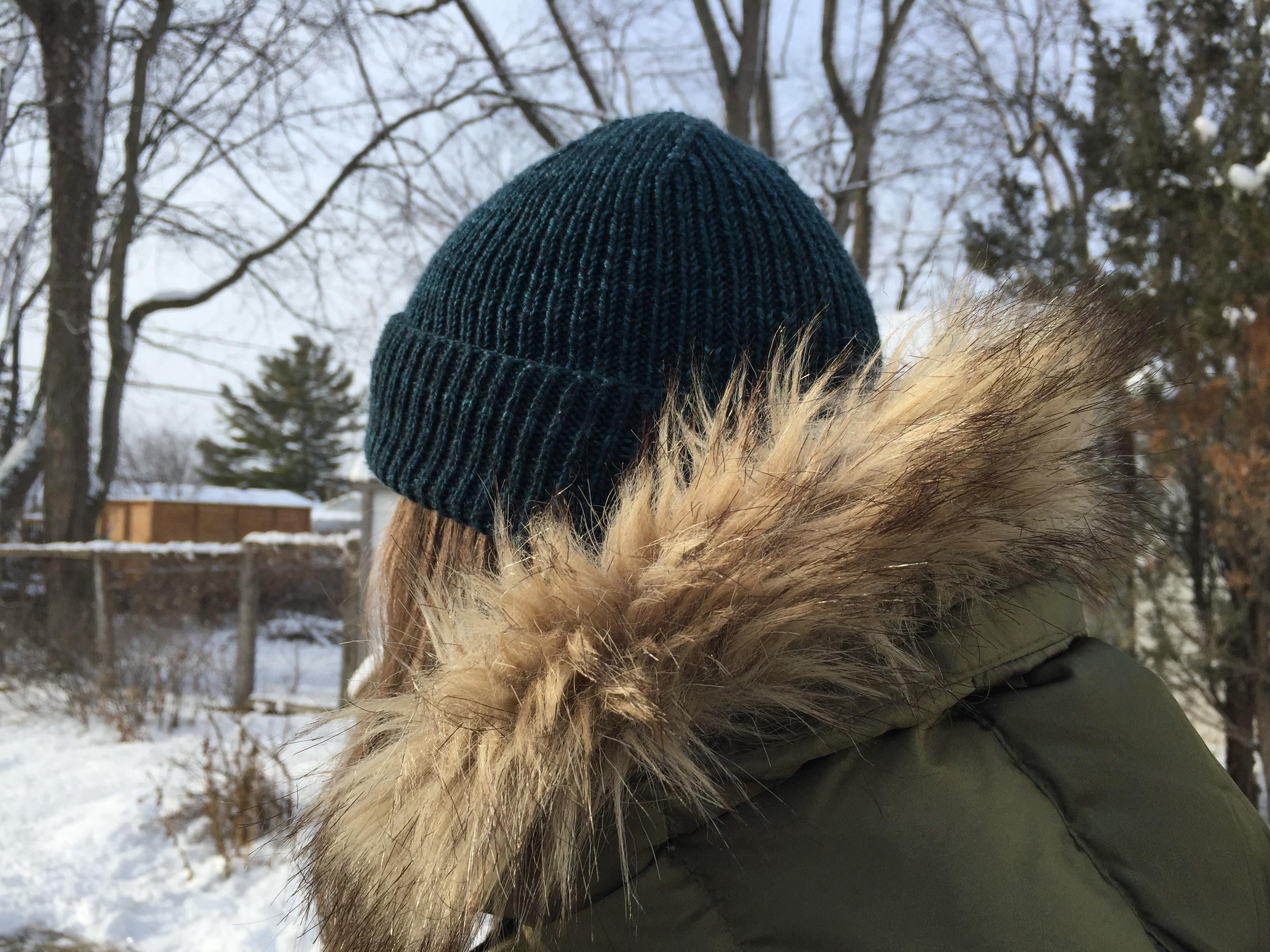 Un bonnet côtelé pour cet hiver!