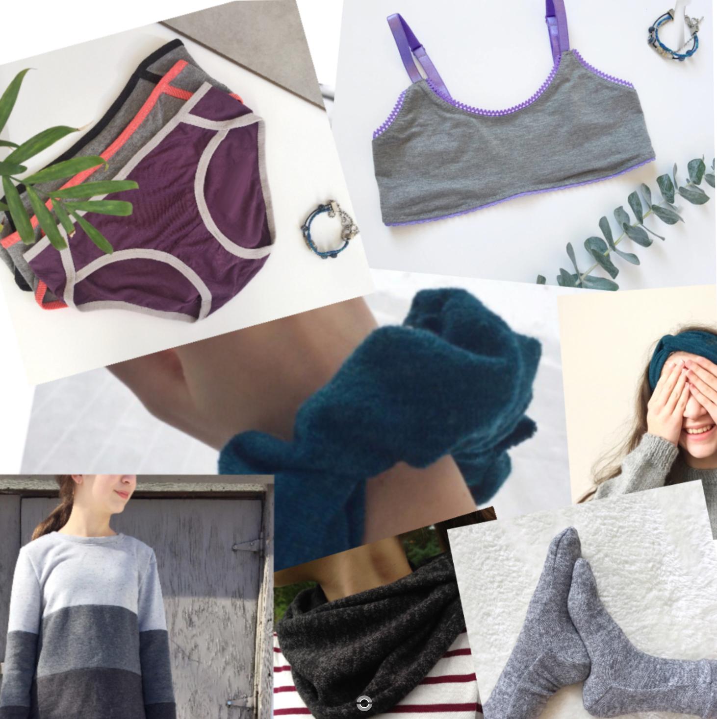7 projets couture à réaliser avec des chutes de tissus extensibles