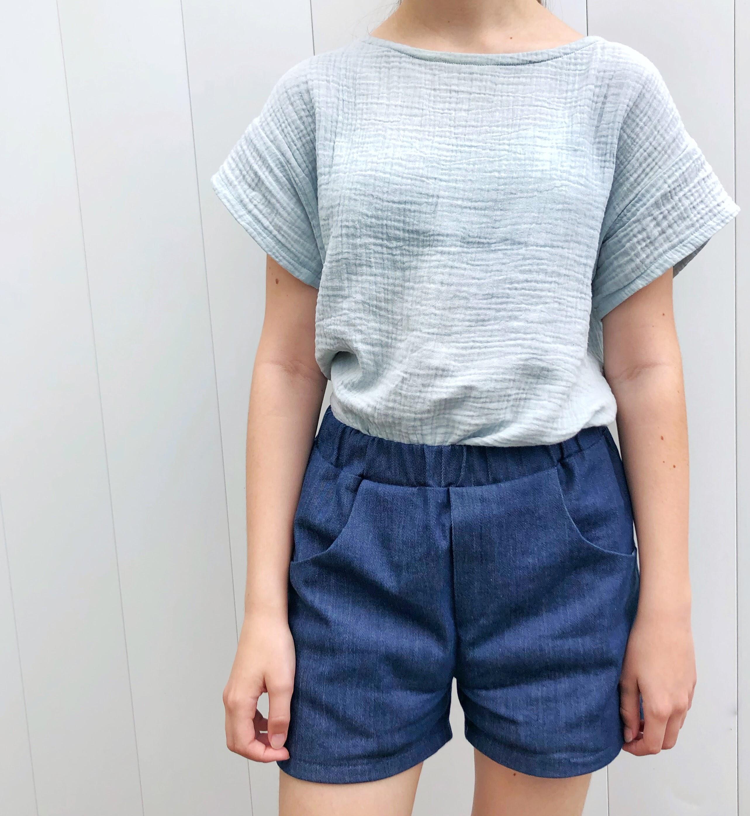 Short en jean du livre Dressed