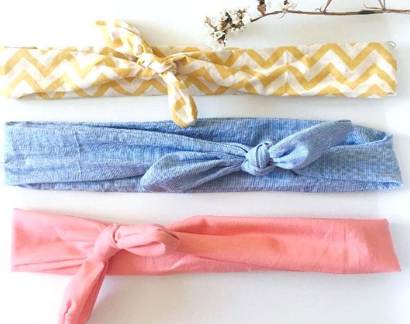 DIY : tuto du headband en tissus