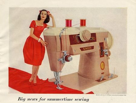 Comment fonctionne une machine à coudre ?