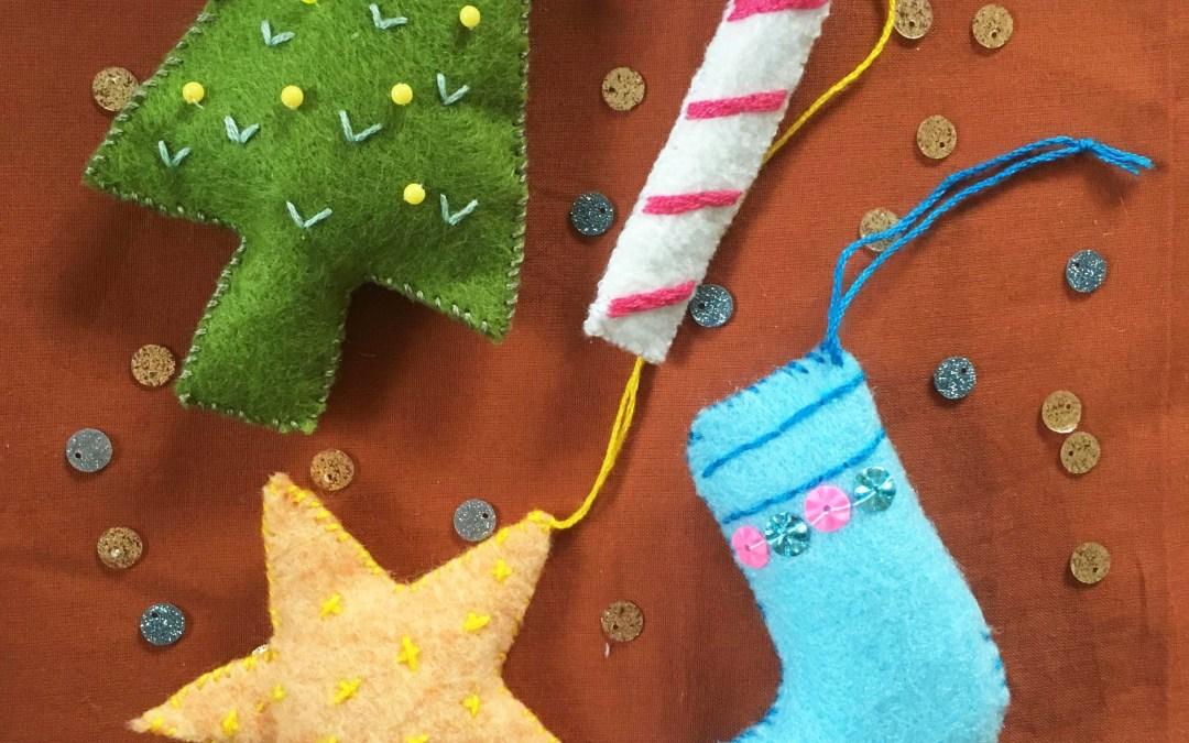 Créer des décorations de Noël
