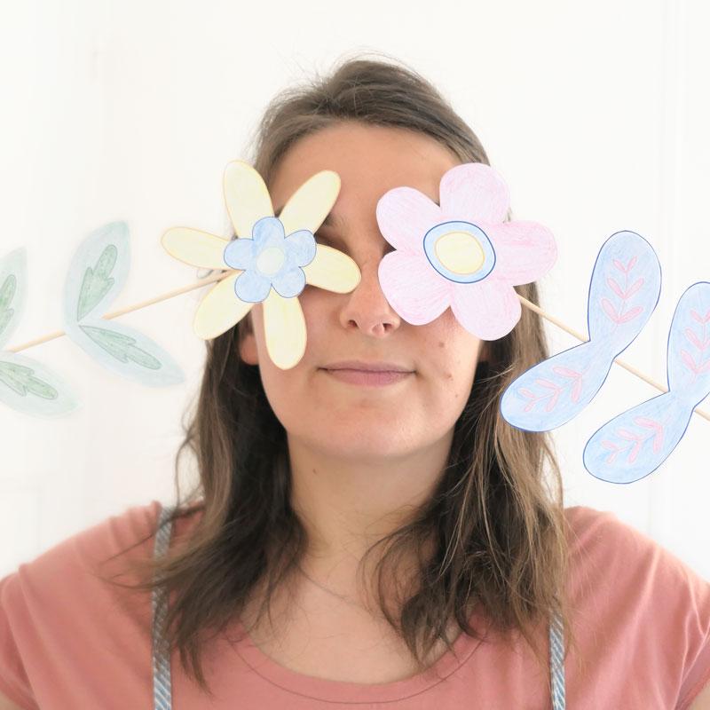 Marion, animatrice d'atelier créatif