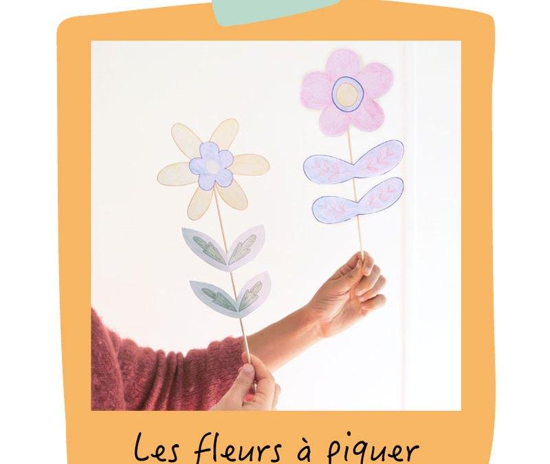 atelier DIY pour les enfants : les fleurs en papier