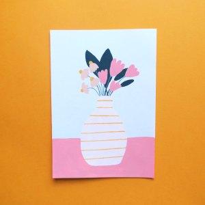 illustration tulipe