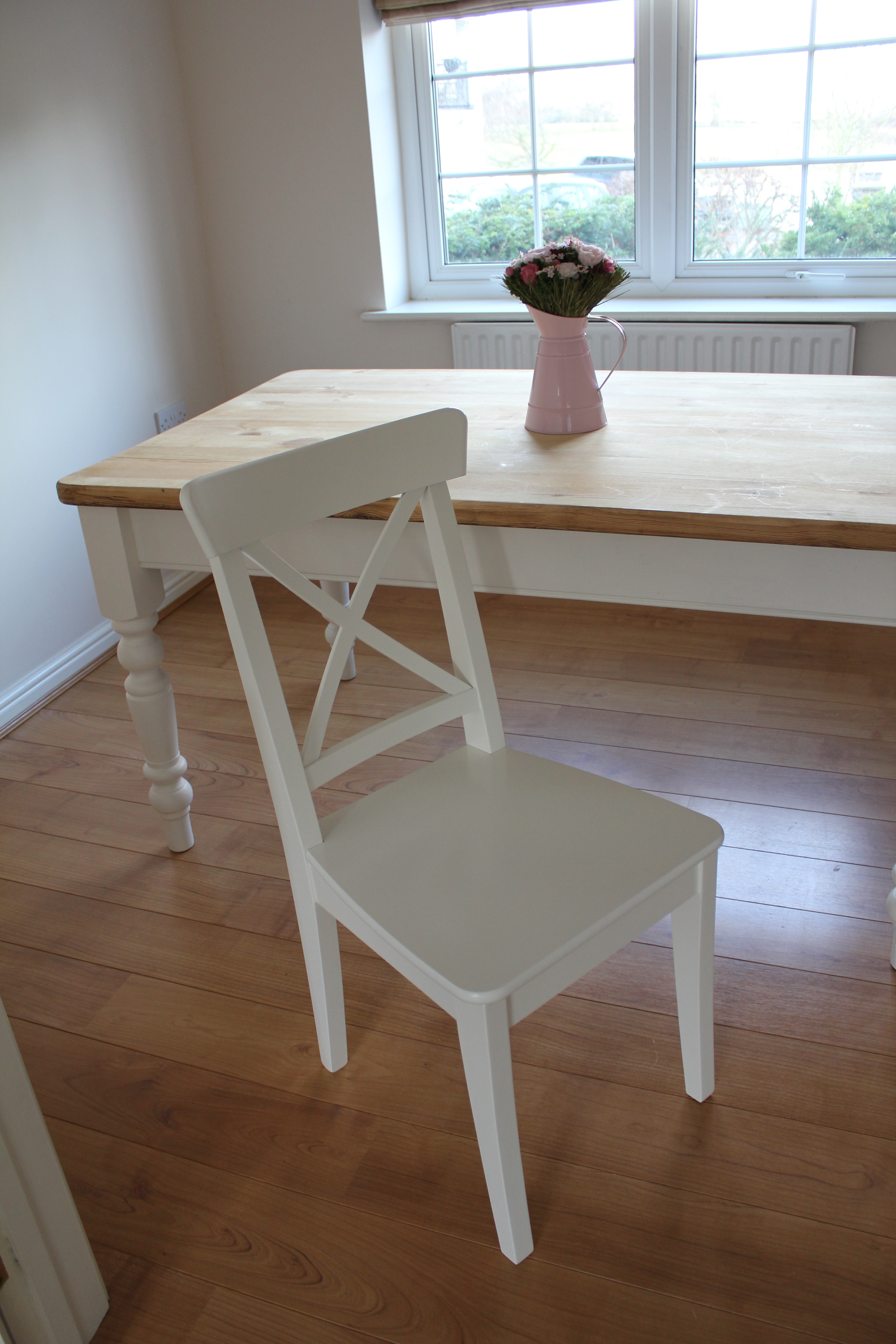 ikea ingolf chair office modern design project dining table with before and after maison belle