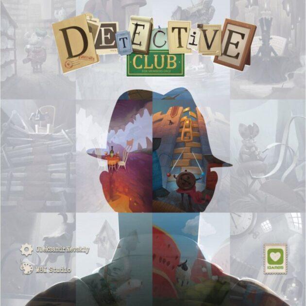 Detective Club 4 à 8 joueurs 8 ans +