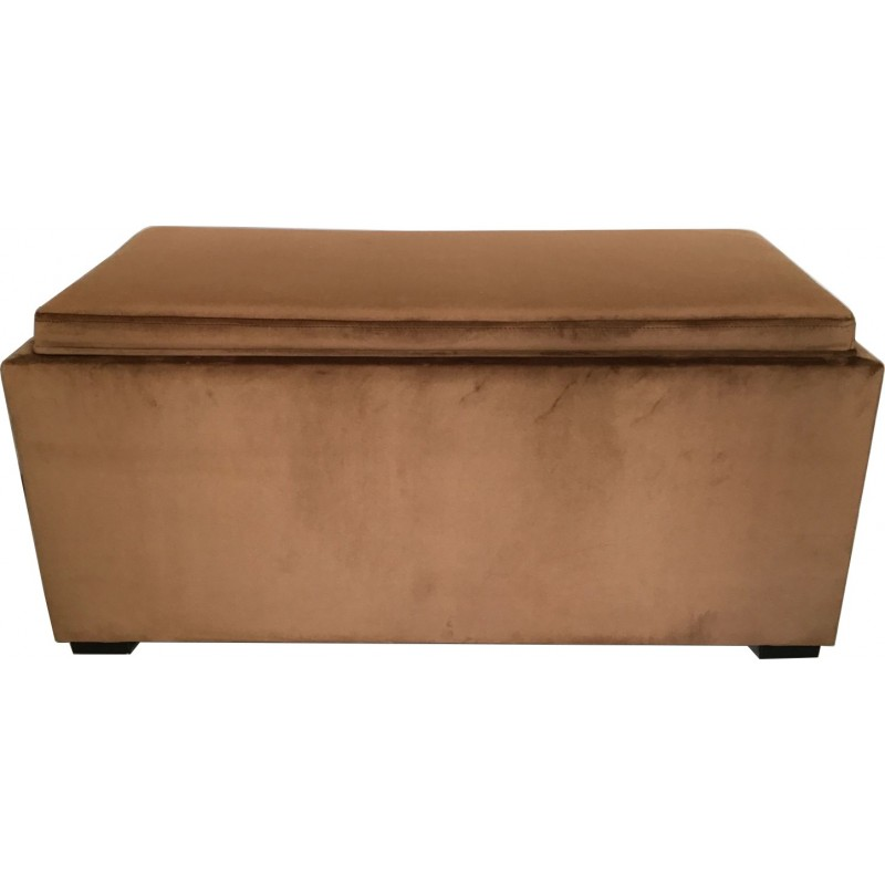 "BANC COFFRE ""COUNTRA"" VELOURS"