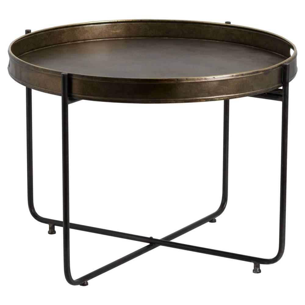 Table Basse /plateau Bronze Antique